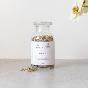 Jivana x promemo Adaptogen tea blend with withania, and schisandra berries